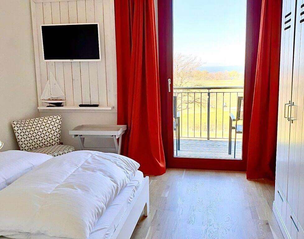 2-Raum-Appartement | Ostsee- & Parkblick |