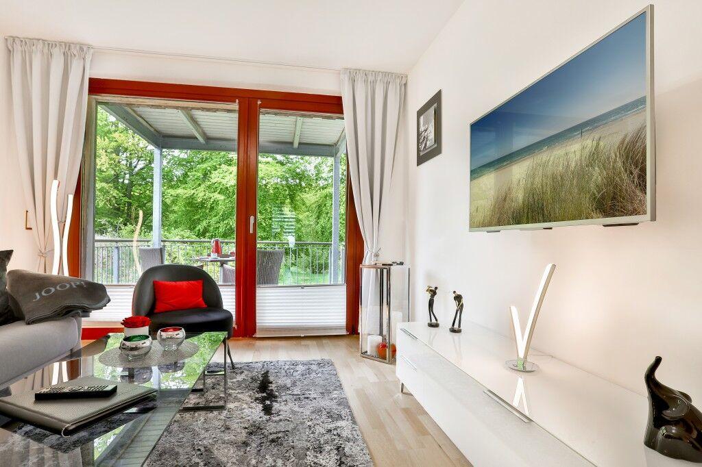 MAJOR | 2-Raum Appartement | Ostsee- & Parkblick